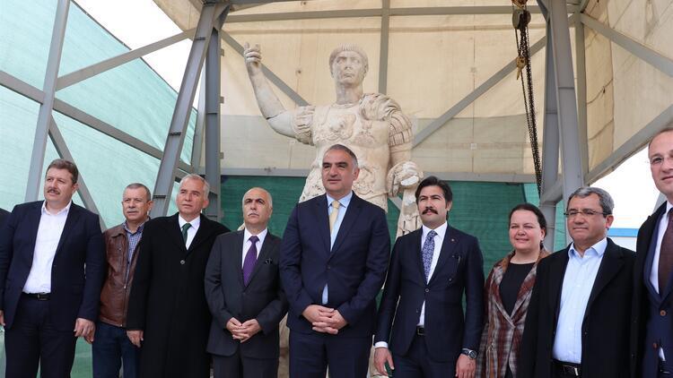 Bakan Ersoy: Antik kentlere olan desteklerimizi sürdüreceğiz