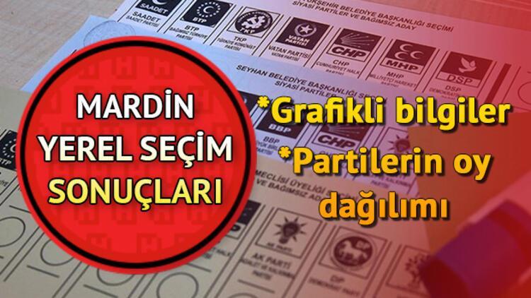 Mardin 2019 seçim sonuçları görüntüleme ekranı! 31 Mart Mardin yerel seçim oy oranları