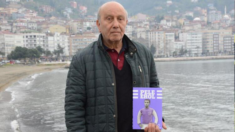 Pele Erol'un hayatı kitap oldu