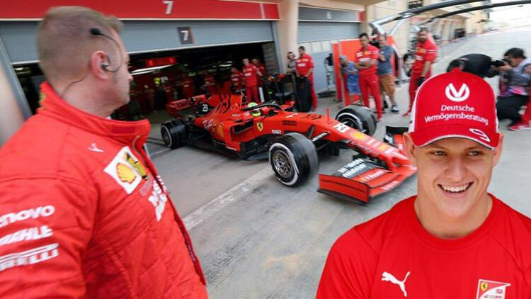 Schumacher, Ferrari ile teste çıktı