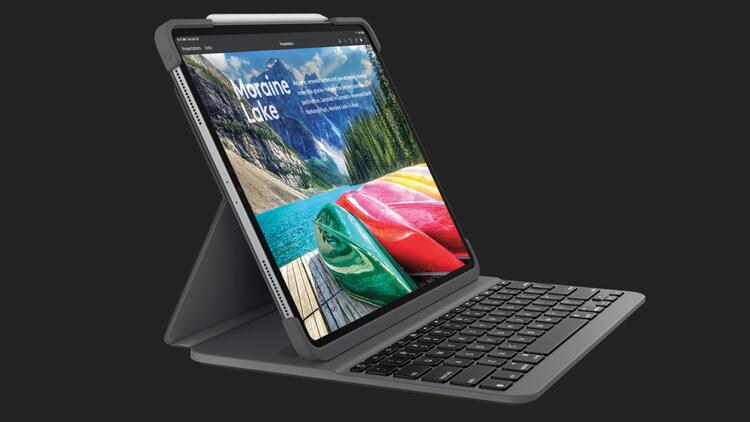 Logitech'in iPad Pro klavyesi Türkiye'ye geliyor