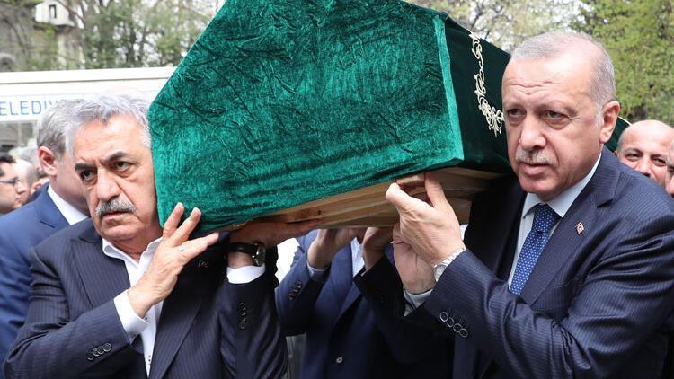 Hayati Yazıcının acı günü… Cenaze törenine Cumhurbaşkanı Erdoğan da katıldı
