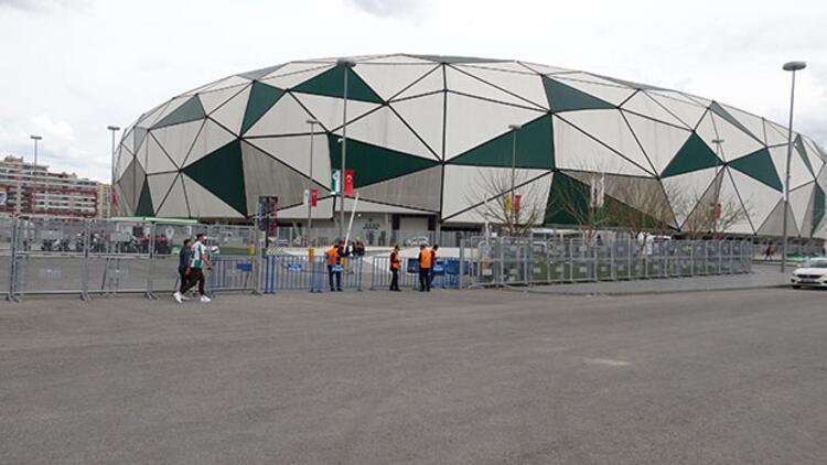 Konya Büyükşehir Stadyumu'nda bombalı eylem için keşif yapmışlar