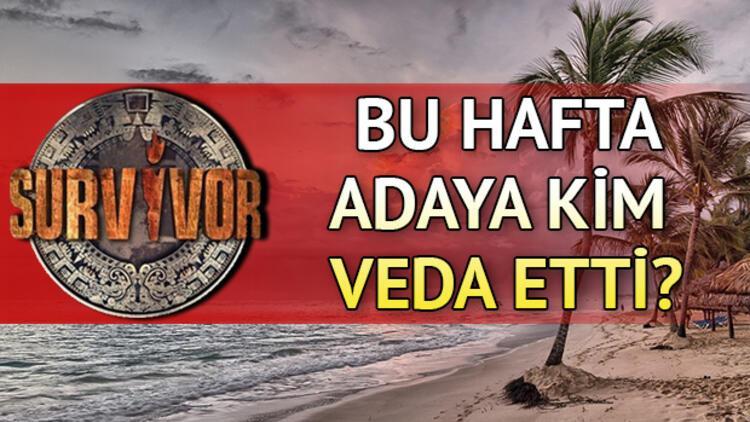Survivor'da adaya veda eden isim belli oldu! Survivor'da bu hafta kim elendi?
