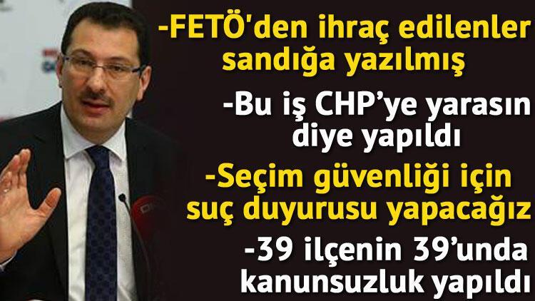 Son dakika... AK Parti'den İstanbul'daki itirazlarla ilgili önemli açıklamalar