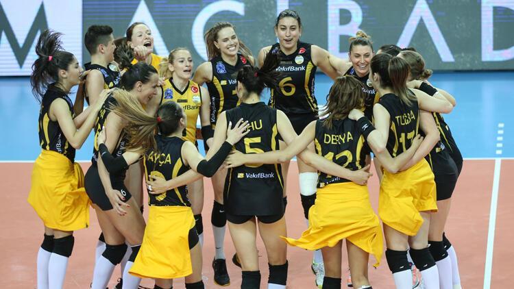 Fenerbahçe'yi eleyen VakıfBank finale yükseldi