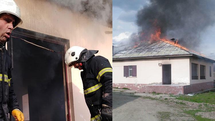Eşiyle tartıştı, evi yaktı! İtfaiye ekiplerine verdiği cevap şaşkına çevirdi