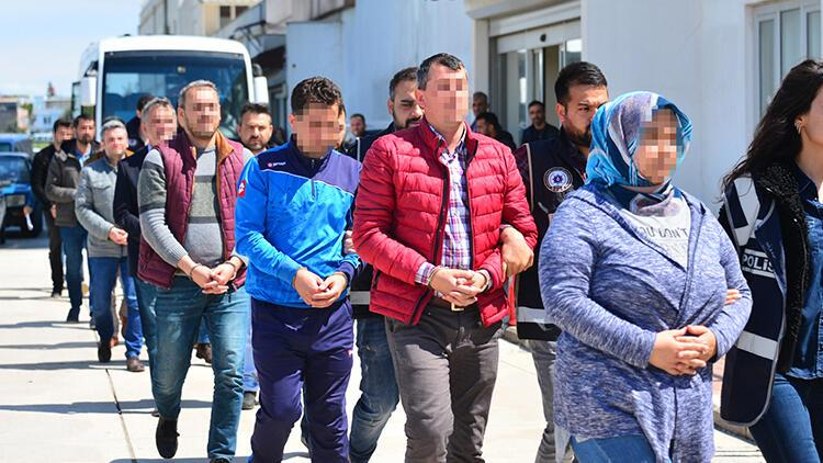 Adana merkezli 9 ildeki FETÖ/PDY operasyonu
