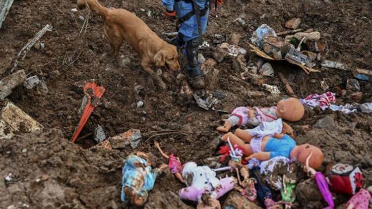 Kolombiya'da toprak kayması felaketi