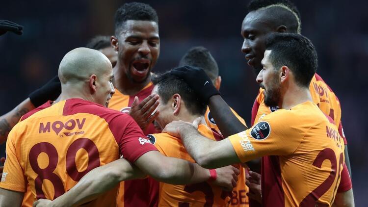 Galatasaray'da şampiyonluk havası!