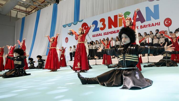 Türkiye'den 23 Nisan kutlamaları