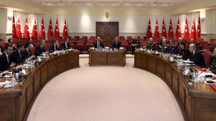 """Milli Savunma Bakanlığında """"önemli"""" toplantı... Kararlılık vurgusu"""