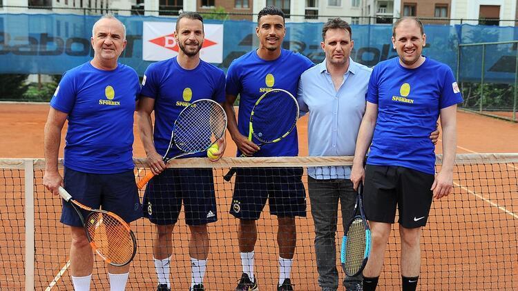 Dirar ve Soldado, otizme dikkat çekmek için tenis oynadı!