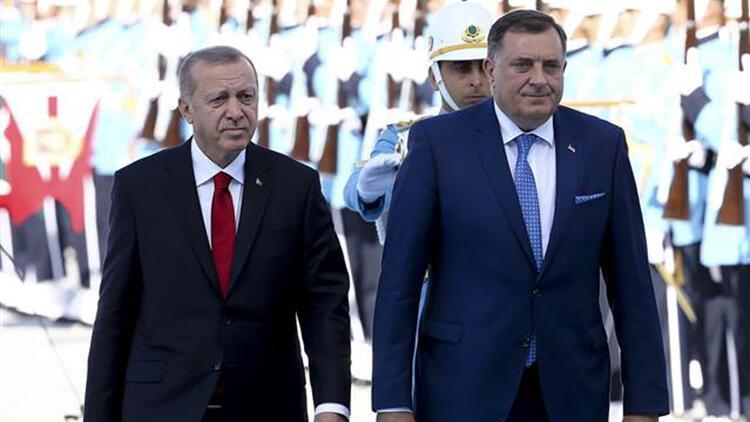 Bosna Hersek Devlet Başkanlığı Konseyi üyeleri Ankara'da