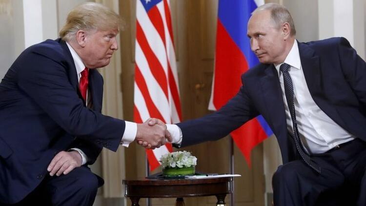 1,5 saatlik görüşmenin ardından Trump'tan ilk açıklama: Putin ile 'Rus komedisini' tartıştık - Güncel Haberler Hürriyet