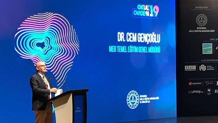 MEB Temel Eğitim Genel Müdürü Cem Gençoğlu: 1.5 milyon çocuk okul öncesi eğitim alıyor