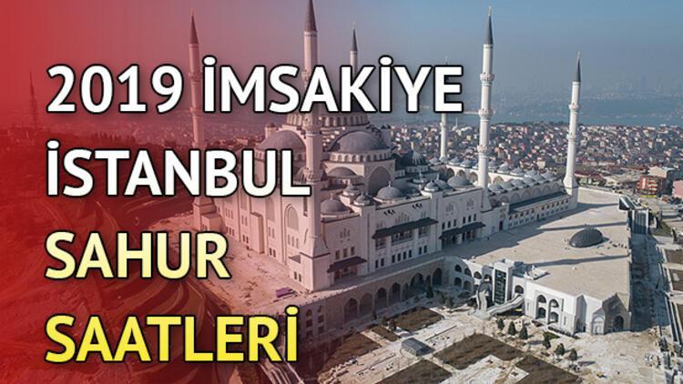 İstanbul'da sahur kaçta yapılacak? İl il imsakiye bilgileri
