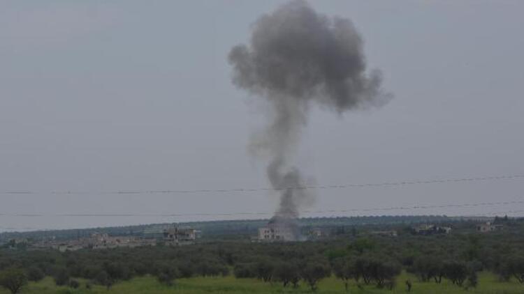 Azez'de ÖSO, teröristlerin taciz ateşine karşılık verdi