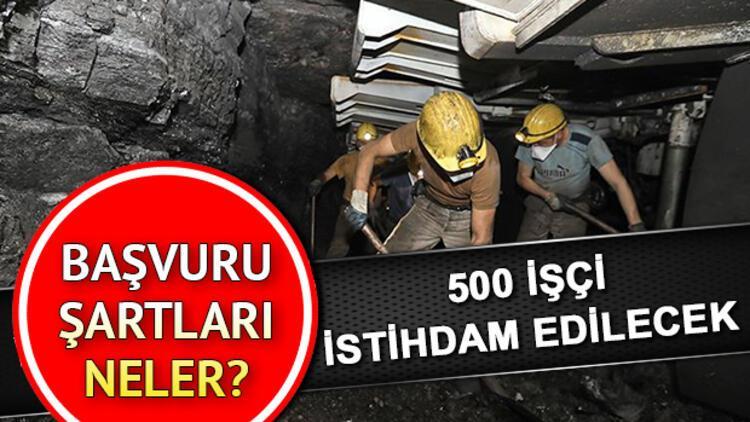 TTK 500 maden işçisi alacak | Başvuru şartları neler?