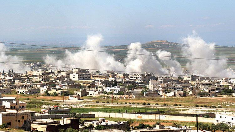 Rejim İdlib'de ilerliyor