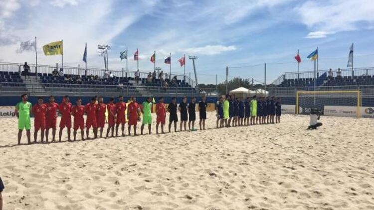 Dünya Plaj Oyunları'na katılım hakkı kazanamadık!