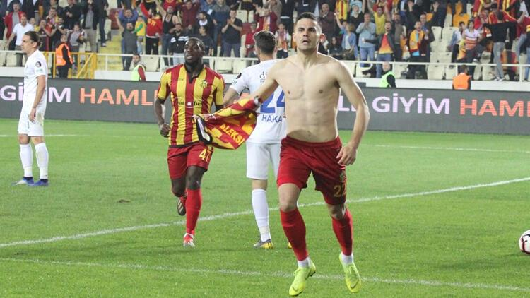 Malatyaspor, Erzurumspor'u ateşe attı