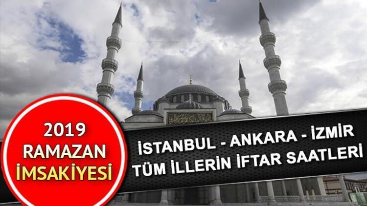 İftar saat kaçta olacak? İstanbul Ankara İzmir il il tüm Türkiye iftar saatleri