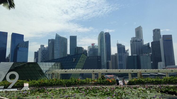 Bahçe içindeki şehir: Singapur
