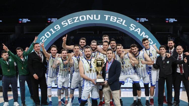 Merkezefendi Belediyesi Denizli Basket, TB2L'de şampiyon oldu!