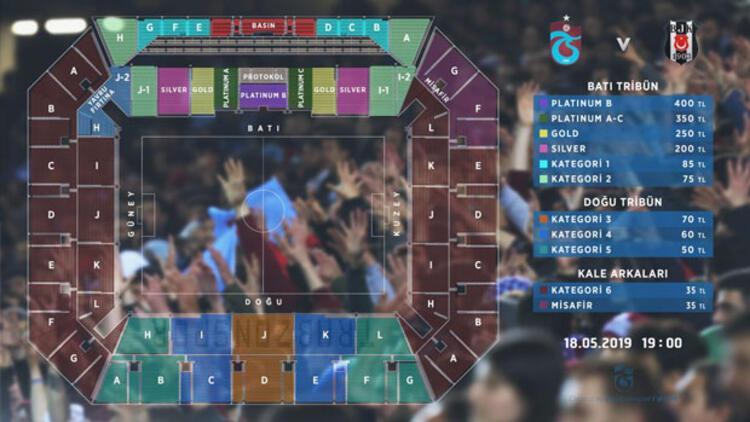 """""""Trabzonspor-Beşiktaş"""" biletleri satışta"""