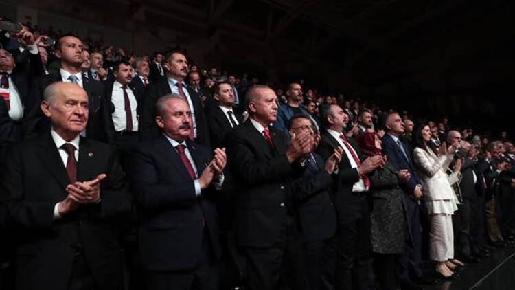 Cumhurbaşkanı Erdoğan drama sahne gösterimini izledi