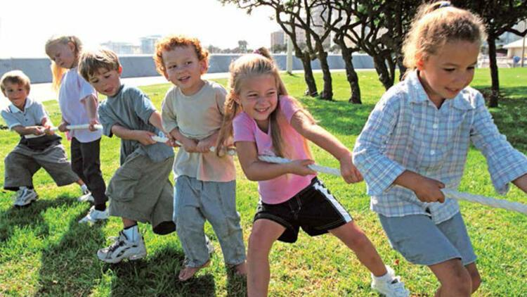 MEB'den okul öncesi çocuklara 'bahçeye çıkın' çağrısı