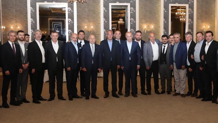 Nihat Özdemir'e 1. Lig'den de tam destek