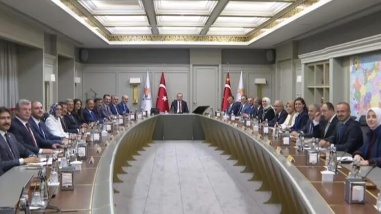 Son dakika: AK Parti MYK toplantısı başladı