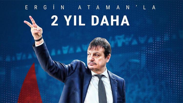 Anadolu Efes, Ergin Ataman'ın sözleşmesini 2 yıl daha uzattı