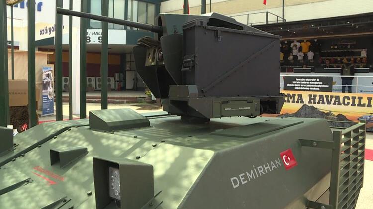 Türk savunma sanayisi bünyesinde kamikaze insansız kara aracı geliştirildi