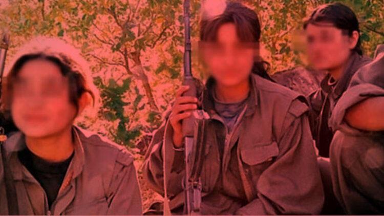 PKK'nın kirli yüzü, kadın teröristin not defterinde