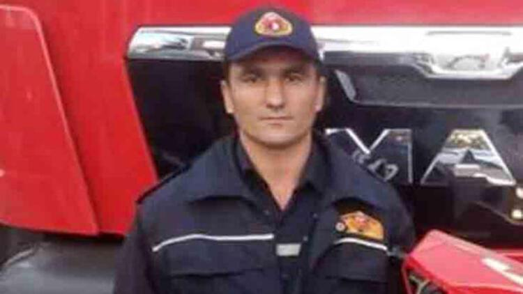Kazada yaralanan itfaiye eri hayatını kaybetti