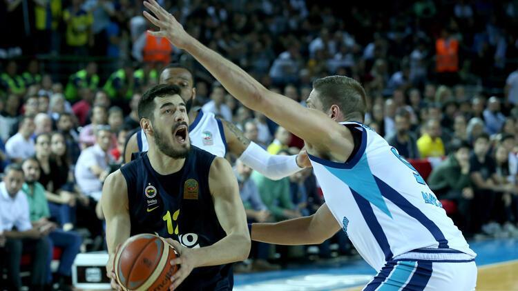 Fenerbahçe kaybetti, seride durum eşitlendi