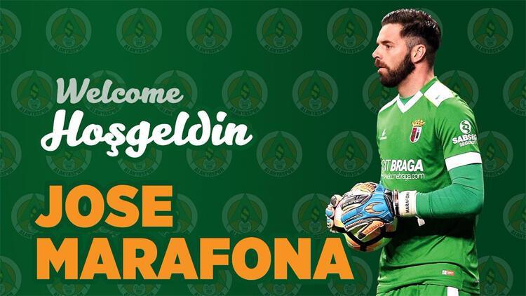 Alanyaspor'dan ilk transfer! Kaleci Marafona imzaladı...