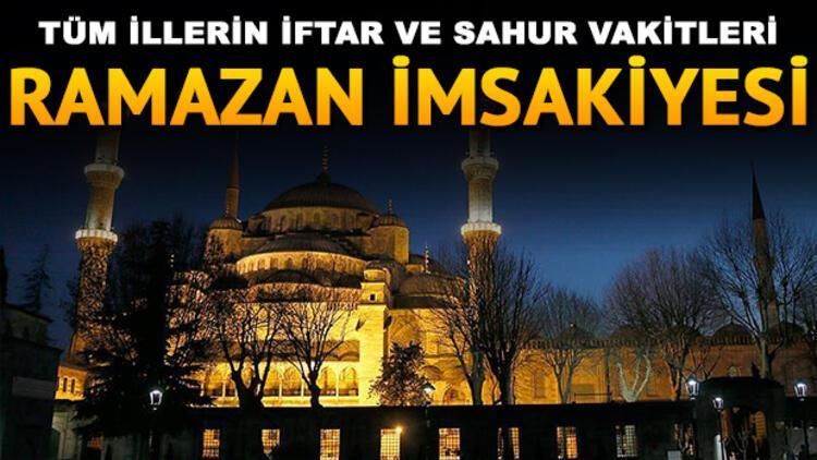 İstanbul Ankara ve İzmir'de iftar saat kaçta yapılacak? Diyanet 29 Mayıs il il iftar saatleri