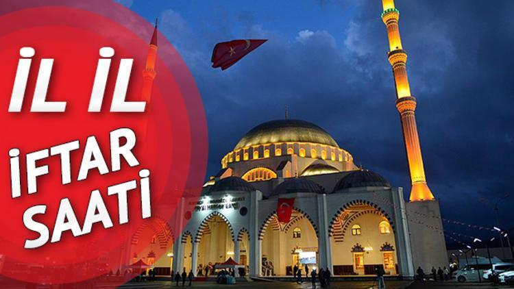 İftar bugün saat kaçta yapılacak? İstanbul Ankara İzmir için iftar vakitleri