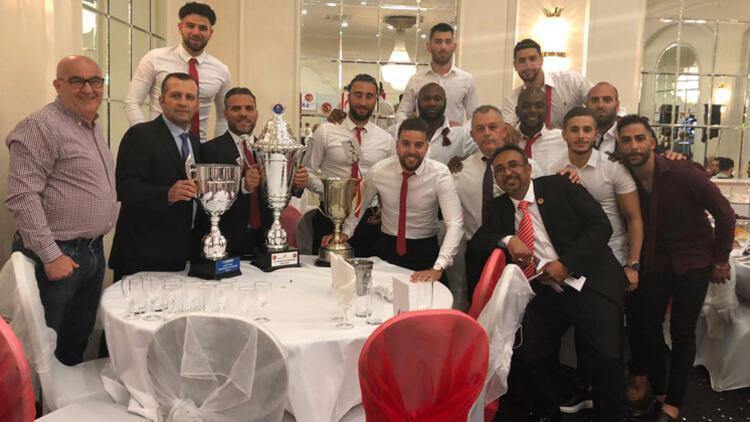 Dumlupınar Yeni Malatyaspor Londra'da şampiyon oldu