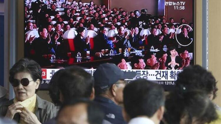 Kuzey Kore'li yetkili Kim Jong-un'la konserde görüldü