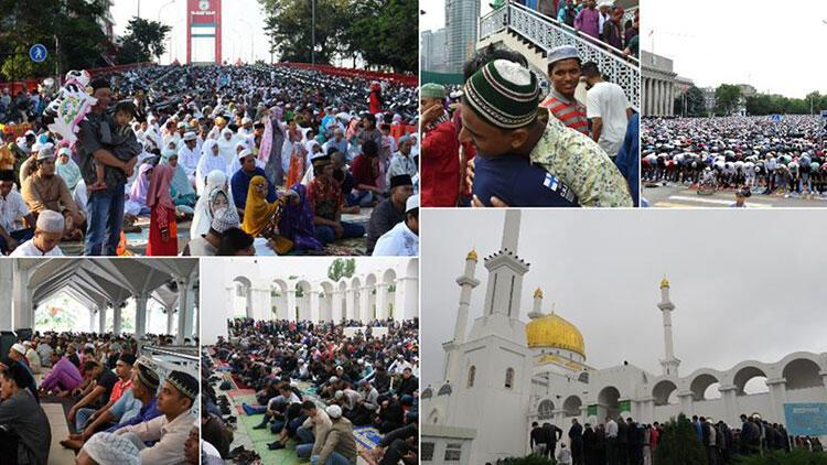 Bazı ülkeler Ramazan Bayramı'na bugün başladı