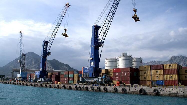 Batı Akdeniz'den 791,9 milyon dolarlık ihracat