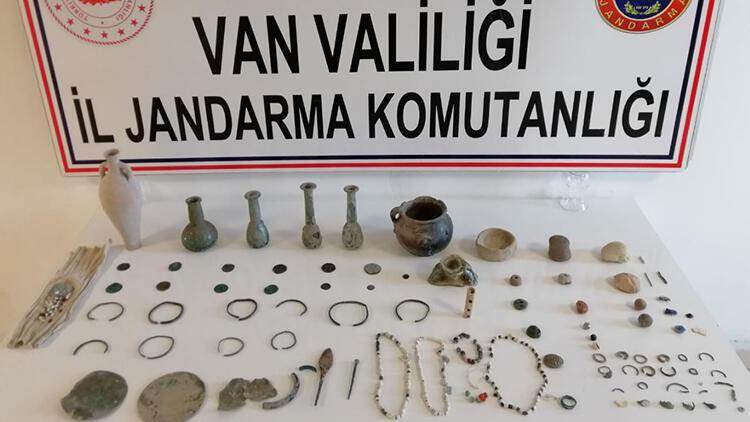 Van'da tarihi eser operasyonu