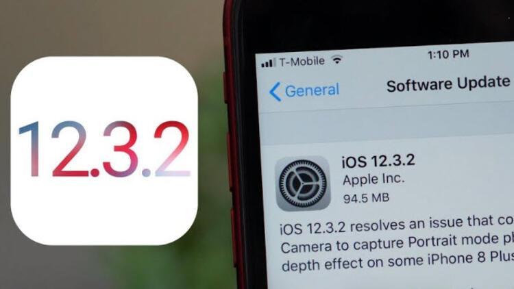 iOS 12.3.2 güncellemesi yayında! Ne değişiyor?