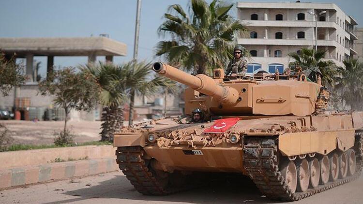 Afrin'de 10 terörist öldürüldü
