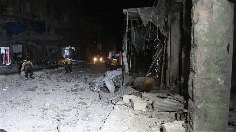 İdlib Gerginliği Azaltma Bölgesi'ne hava saldırılarında çok sayıda ölü var